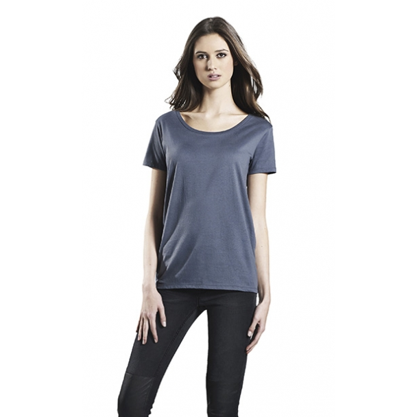WOMENS OPEN NECK T-SHIRT