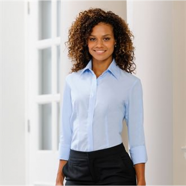 Women's � sleeve Tencel corporate shirt