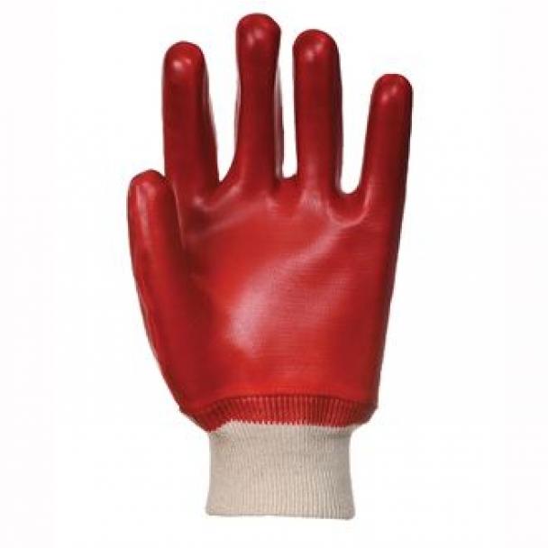 PVC knitwrist glove (A400)