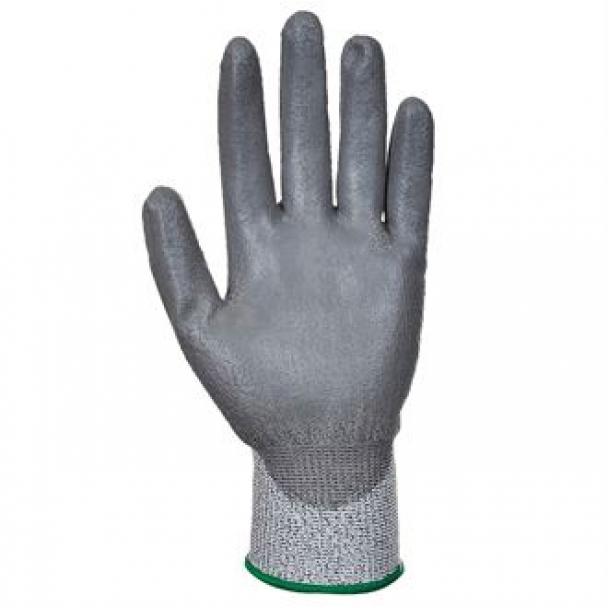 Cut level 3 PU palm coated glove (A620)