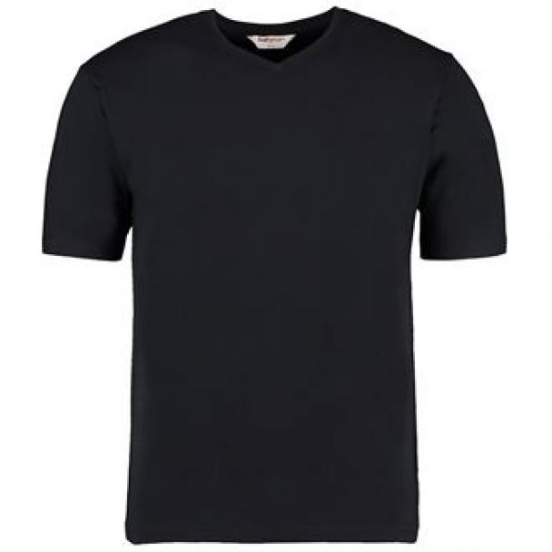 Cafe bar top v-neck short sleeve
