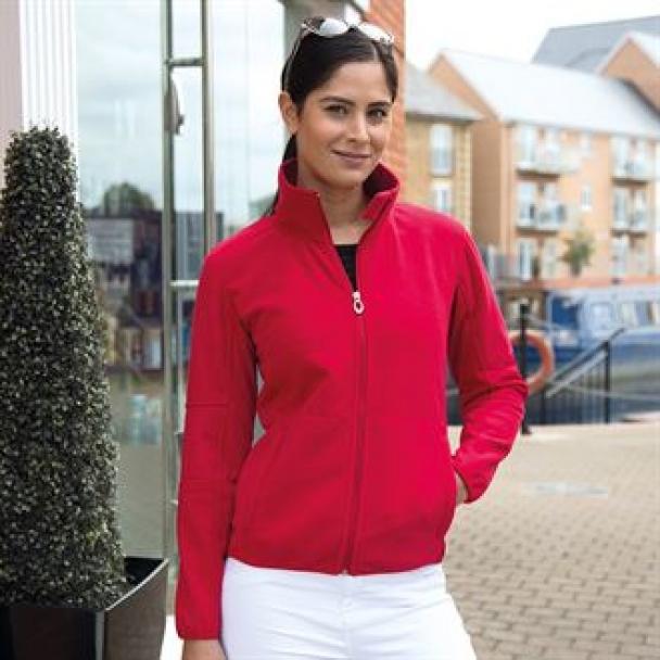 Women's Osaka combed pile softshell jacket