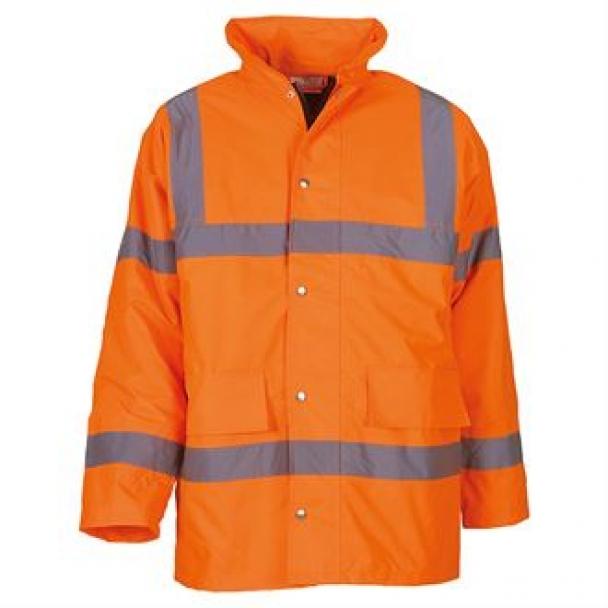 Hi-vis classic motorway jacket (HVP300)