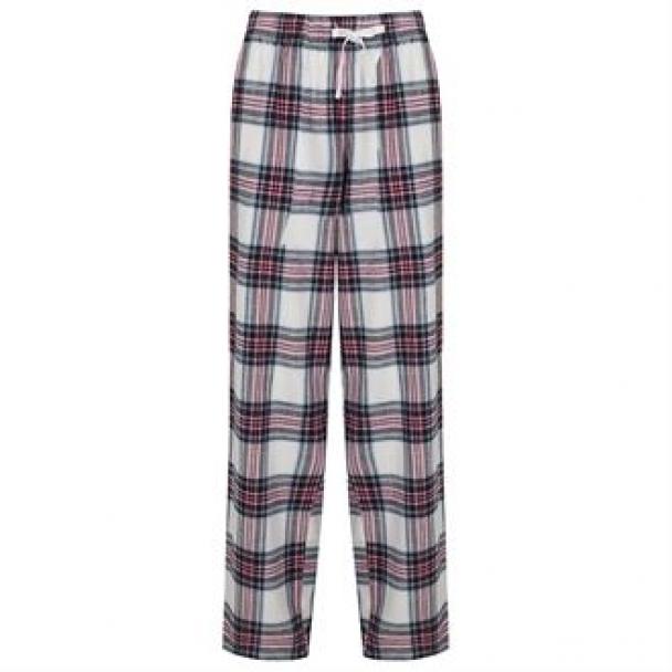 Women's tartan lounge pants