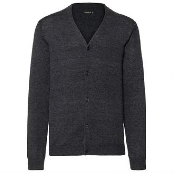 V-neck knitted cardigan