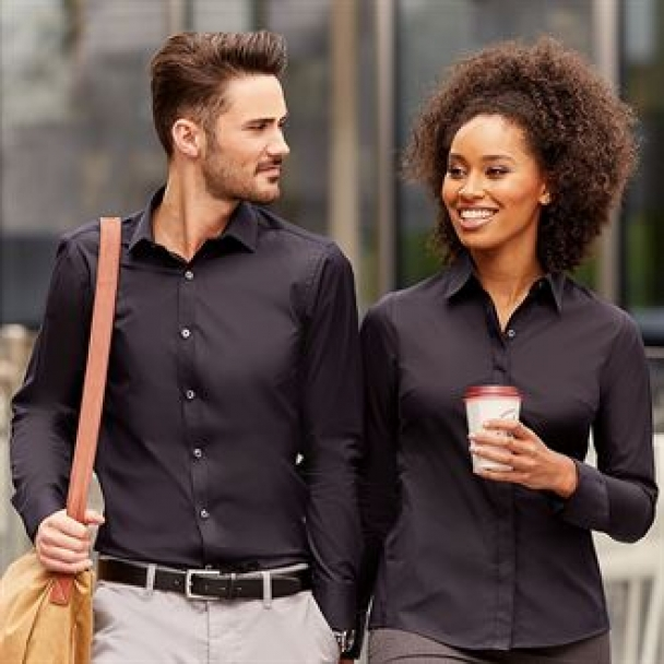 Women's long sleeve ultimate stretch shirt