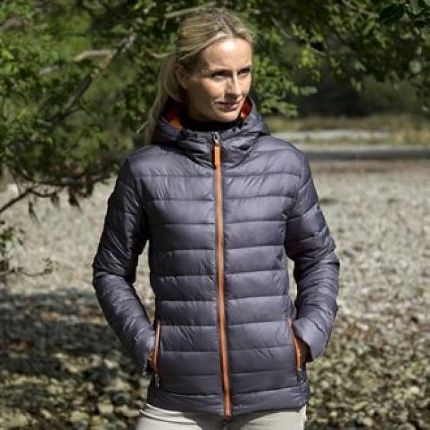 Women's Urban snow bird hooded jacket
