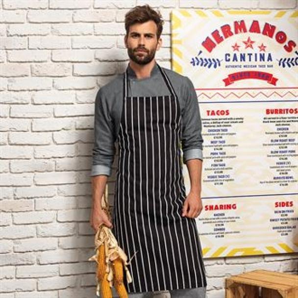 Stripe apron