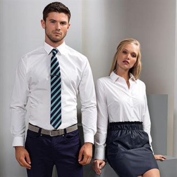 Women's supreme poplin long sleeve shirt