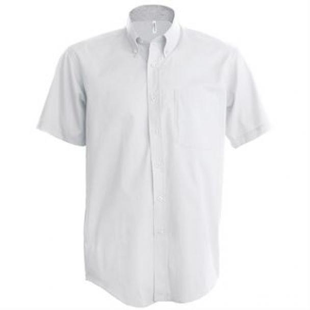 Short sleeve easycare Oxford shirt