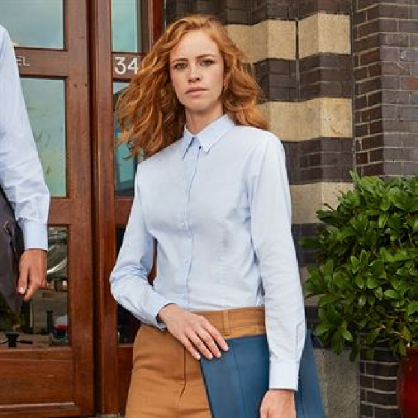 B&C Oxford long sleeve /women
