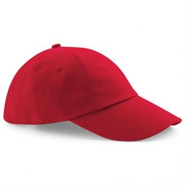 Low-profile heavy cotton drill cap