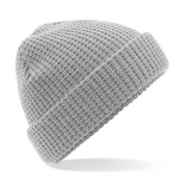 Classic waffle knit beanie