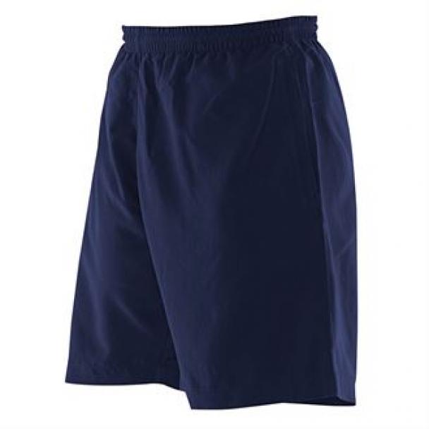 Kids plain microfibre shorts