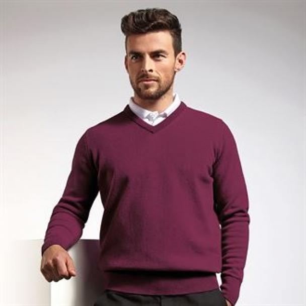 g.Lomond lambswool v-neck sweater (MKL5900VN-LOM)