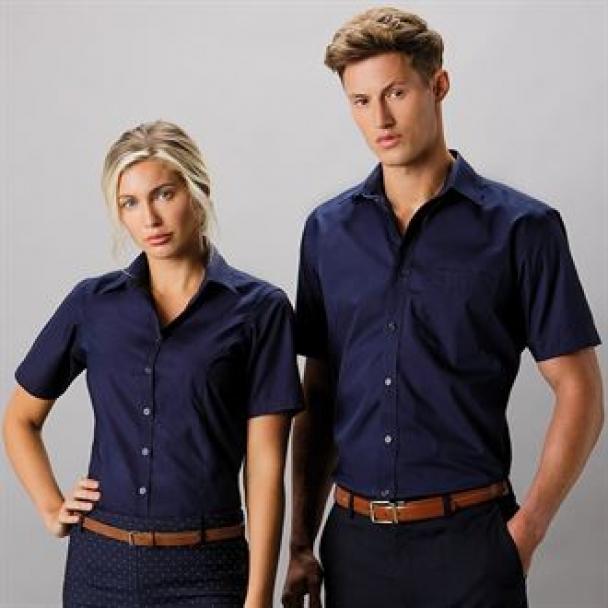 Business blouse short sleeved