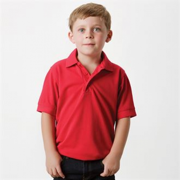 Klassic polo kids with Superwash® 60°C