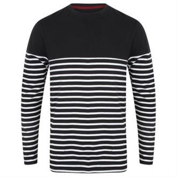 Long sleeve Breton striped T