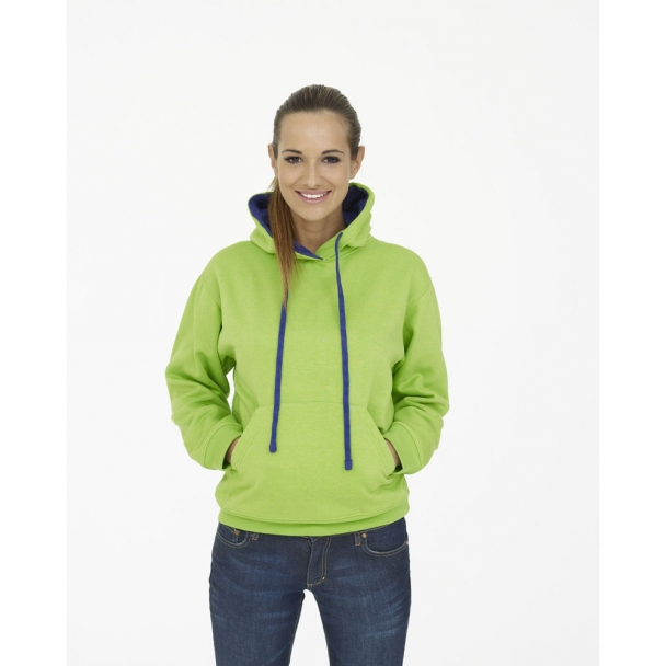 UC507 Contrast Hooded Sweatshirt